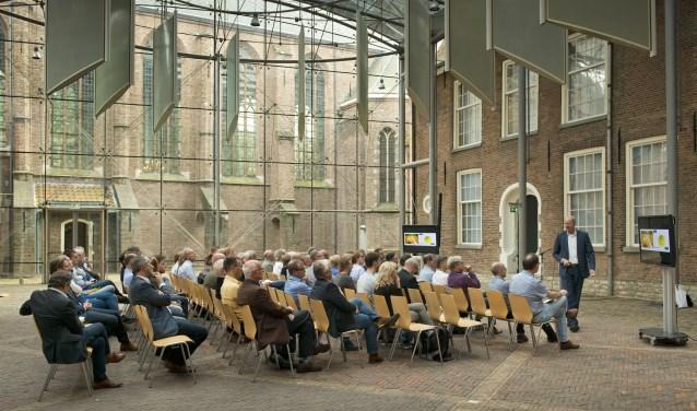 Het sportcongres was in de Prinsenhof (Foto Sportraad/Roel van Dorsten)