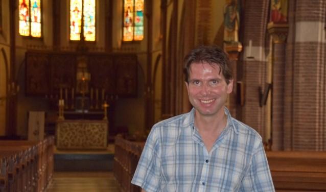 Pastoraal medewerker Roman Gruijters. (Foto: Hanneke Hoefnagel)