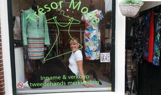 Marrit Andringa-Esvelt is eigenaar van Trésor Mode.