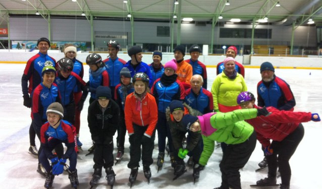 De Hengelose IJsclub HIJC gaat weer beginnen G-schaatsen.