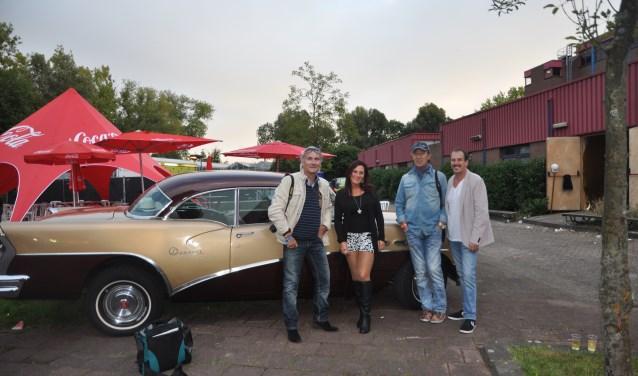 Ferry Lever, Polle Eduard en organisatie Boulevard of Golden Music. Foto: Martin Reitsma