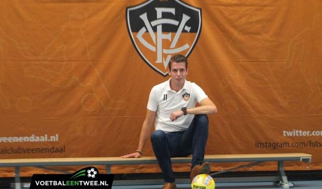 Stefan Schuilenburg is een van de oprichters van het nieuwe zaalvoetbalteam in Veenendaal. (Foto: VoetbalEenTwee)
