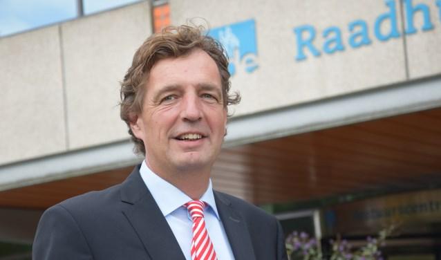 De nieuwe burgemeester van Ede, René Verhulst. (foto: Danny van Zeggelaar)