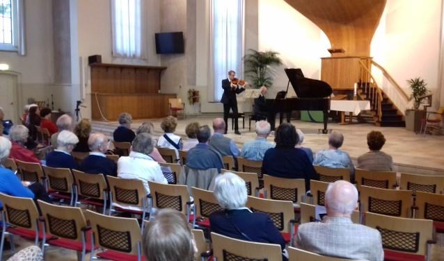 De Stichting Zaterdagmiddag Concerten Zeist organiseert voor de 29e keer een reeks uitvoeringen. FOTO: Maarten Bos