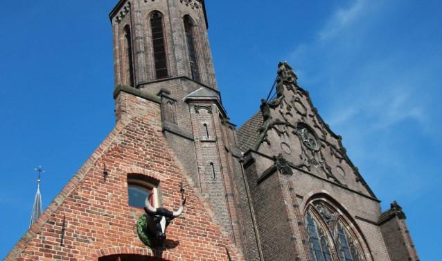 De Kleine Vleeshal aan de Lange Nieuwstraat is opengesteld tijdens de Open Monumentendagen. Eigen foto