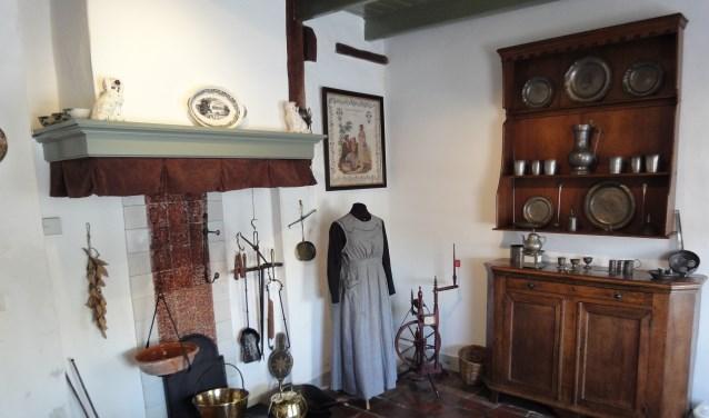 De oude keuken in Museum de Koperen Knop. (Foto: Privé)