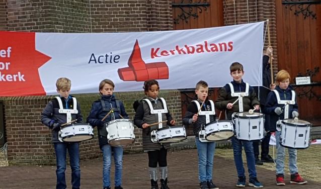 Actie Kerkbalans startte zaterdag 20 januari. Ook in Schalkwijk wasdie dag om 13.00 uur een speciaal startmoment.
