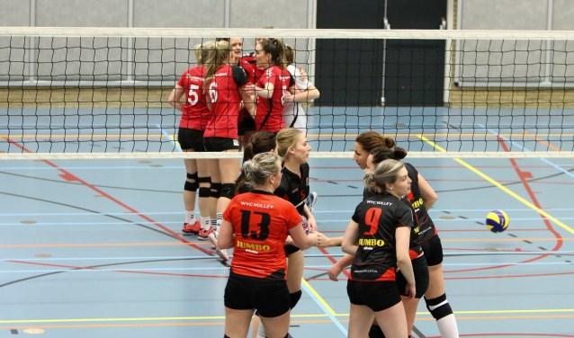 Voor WVC is deze gewonnen wedstrijd niet de mooiste, maar wel een wedstrijd met het juiste resultaat. Foto: Jan van den Noort.