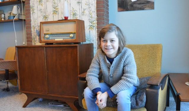 Iwan Nicolai vindt zijn huis geweldig onder andere vanwege de rijke geschiedenis (foto: Chantal Bolleman)