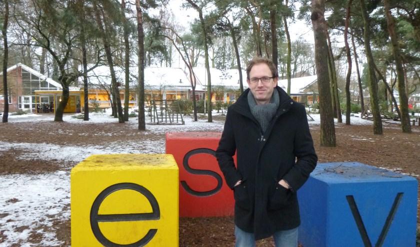 """Martin Roes is sinds 1 februari 2017 schooldirecteur van de ESV. Met plezier blikt hij terug op het afgelopen jaar: """"Ik voel me hier thuis."""""""