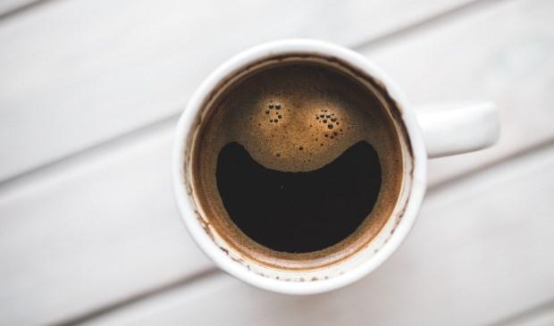 Eerste koffie momentje van Like my day
