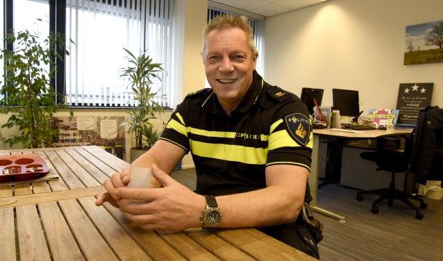 Voor teamchef Ruud van Es is de aanpak woninginbraken een eerste prioriteit. Foto: Marianka Peters