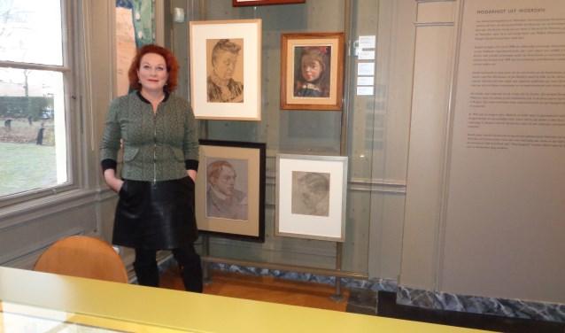 """Katrien Timmers: """"De tentoongestelde werken wisselen regelmatig."""" Foto: Roy Visscher"""