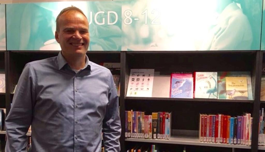 Bas Collignon is de nieuwe directeur van basisschool De Laak. (Foto: Anne-Bregtje Schelfhout)