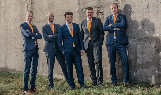 De eerste 5 kandidaten op de kandidatenlijst van de SGP voor de gemeenteraadsverkiezingen 2018. FOTO: Huibert van den Bos Fotografie
