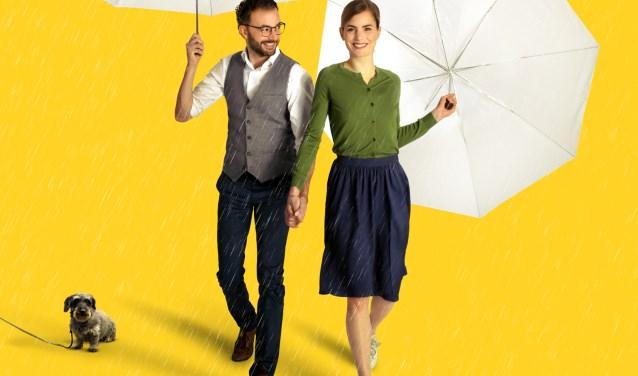 Nasrdin Dchar en Hannah Hoekstra spelen in de nieuwe film Gek van Oranje, die vanaf 15 februari te zien is.