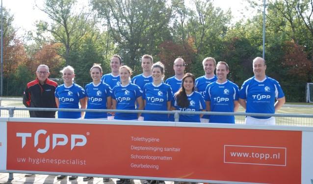 TOPP is de nieuwe sponsor van De Zwaluwen 3. (foto: PR)