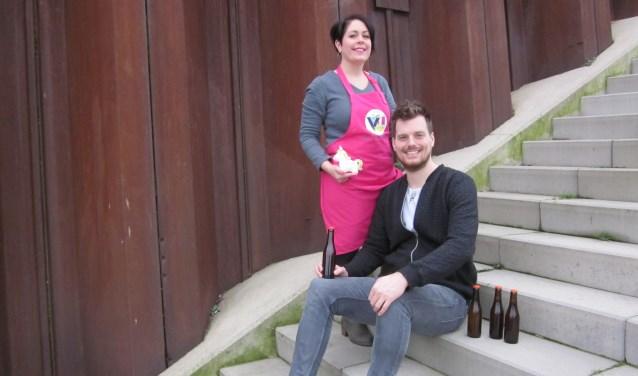 Roland Folkers en Angela Jansen ondernemen met hart en ziel. (foto: eigen foto)