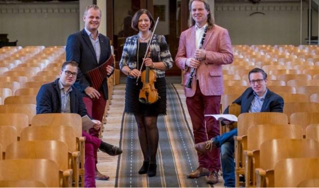 Take Five geeft een Nieuwjaarsconcert in de Boezemkerk (Foto: PR)
