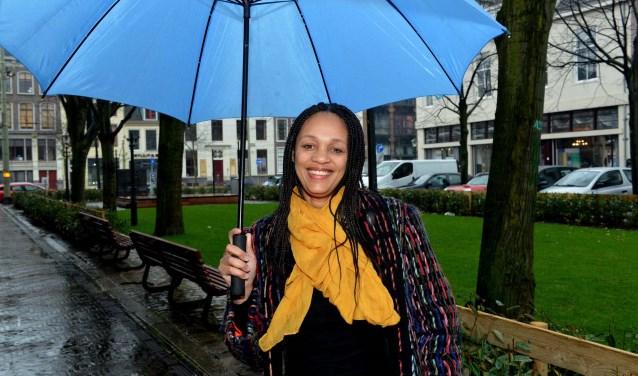 Idalina Neves heeft goede herinneringen aan Den Haag/ Foto: Jos van Leeuwen.