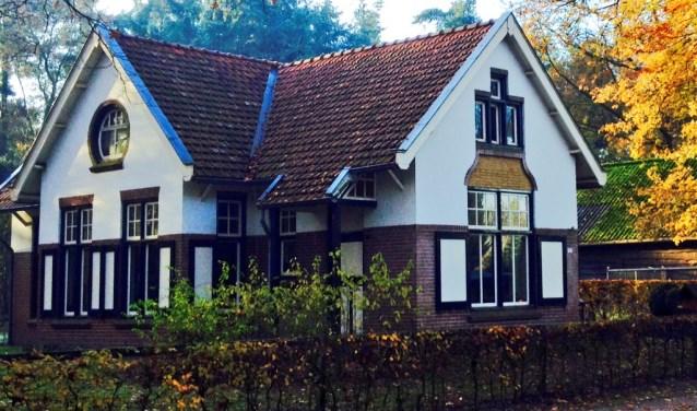 Het boswachtershuis op de Grote Slink bij Sint Anthonis. (foto: Willy van Schipstal)