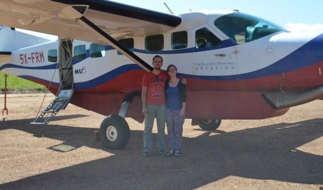 Wouter en Marlies Nagel ruilden hun succesvolle bestaan in Vlaardingen in voor ontwikkelingswerk in Zuid-Soedan. (Foto: MAF Nederland)