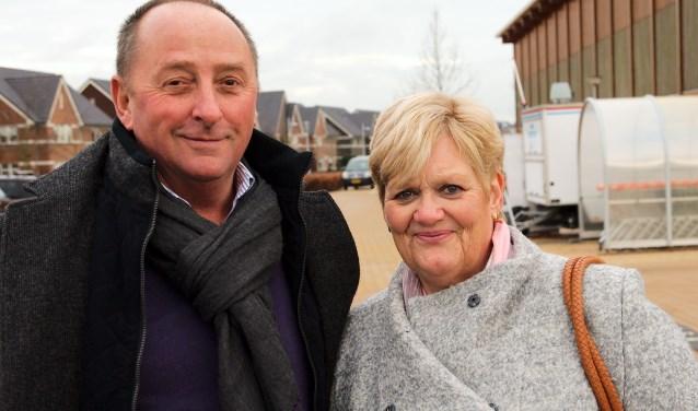 Als het aan het echtpaar Van Haaren ligt, hoeft de stad niet groter te worden. ,,Het is goed zo''(foto: Gert Perdon)