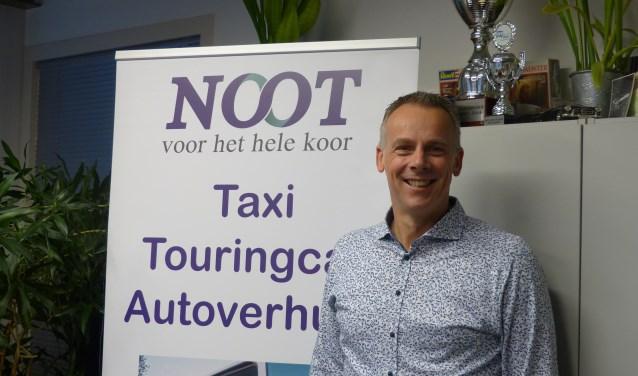 De voorbereidingen voor de verhuizing van Noot zijn in volle gang volgens directeur Martijn Kersing van Noot Personenvervoer. (Foto: Diana Kervel)