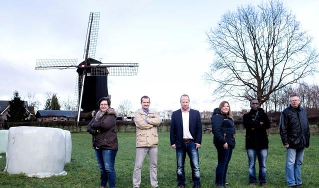 De kandidaten voor de Doesburgermolen, zoals fractievoorzitter Van Druiten dat graag ziet.