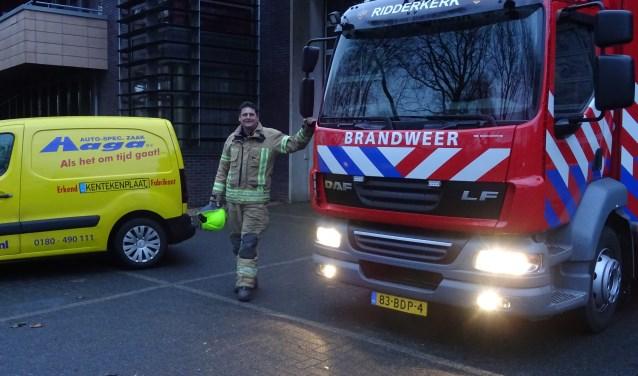 Willem Geerts houdt het na 15 jaar voor gezien bij de brandweer.