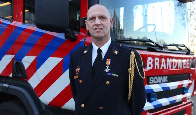 Geert den Brok kreeg een lintje (Foto: Marco van den Broek).