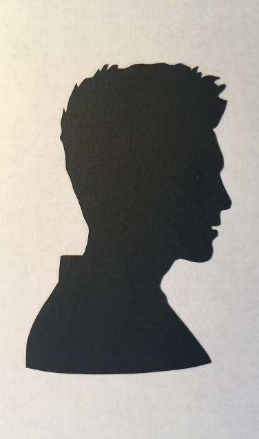 Papercutting Mann