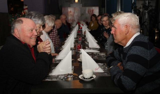De nieuwjaarsbijeenkomst in de Wok Inn is één van de jaarlijkse hoogtepunten voor de vrijwilligers. Foto: Grietje-Akke de Haas