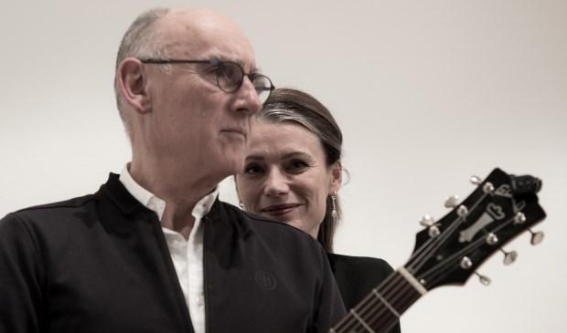 Nieuwsgiering namen Peter Mingaars en Angela van Rijthoven samen de muziek door. Eigen foto