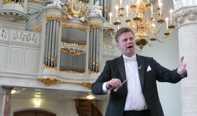 Peter Wildeman (foto) en Joost van Belzen vormen samen 'Duo Vier Handen'. Zaterdag zijn zij te bewonderen in de Grote of Catharijnekerk in Heusden.