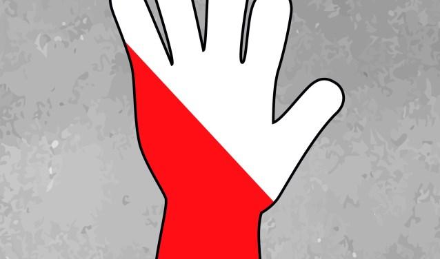 Een nieuw kunstproject met verloren handschoenen is in de maak. Foto: PR