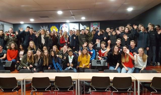 135 leerlingen deden mee aan het project. (Foto: PR)