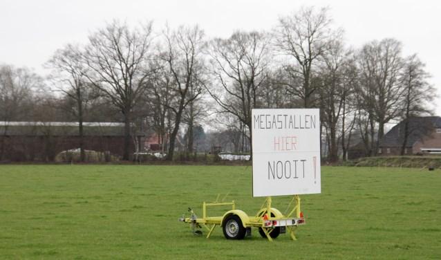 De omgeving van 't Silder waar twee megastallen zullen verrijzen. (Foto: Eveline Zuurbier)