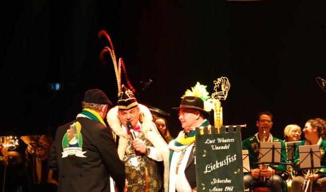 Tijdens het Liekusfist wordt traditiegetrouw gestreden om het Loet Woutersvaandel, vernoemd naar de eerste Schorsbosser prins.