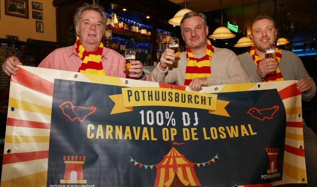Ondernemers uit Grave werken samen voor een spetterend carnavalsfeest. (foto: Marco van den Broek)