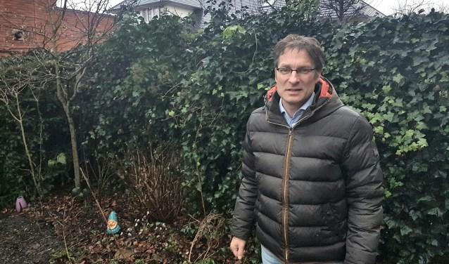 Pieter Aaldring geeft als Stadsvogeladviseur graag advies over een juiste inrichting van uw tuin of balkon.
