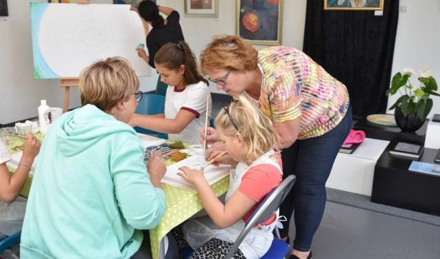 Ook deze voorjaarsvakantie houdt het Kunsten Centrum Nieuwegein weer de 'Kids Art Club'