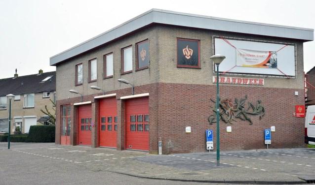 De huidige brandweerkazerne aan de Anne Franklaan is aan vervanging toe. (Foto: Paul van den Dungen)