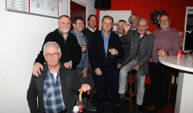 WF Estria viert de titel Elftal van het Jaar (Foto: Matt Gerrits).