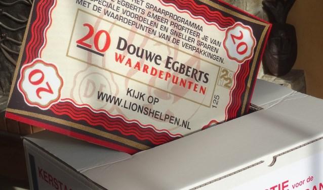 Tot en met 21 januari kunnen waardepunten, liefst geteld en in een envelop, als gift aan de voedselbank worden gedeponeerd in de speciale inzameldozen (Foto: PR).