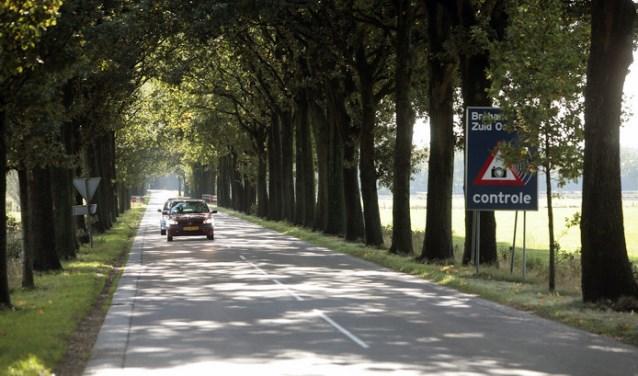 De werkzaamheden worden uitgevoerd op de Fressevenweg en de Bergeijksedijk. Foto: Jan van den Dungen