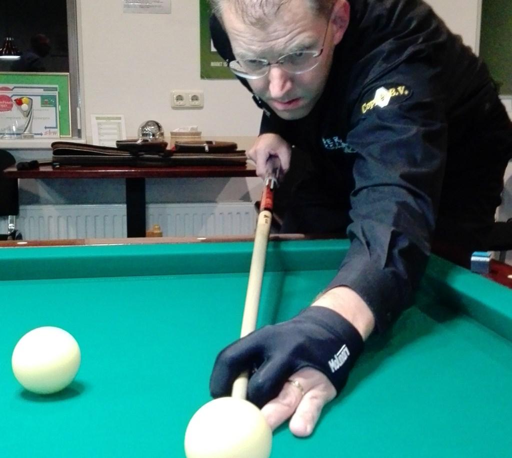 Lyon Megens, de nr. 1 van de ranking en één van de titelkandidaten. Foto: Will van Zwam
