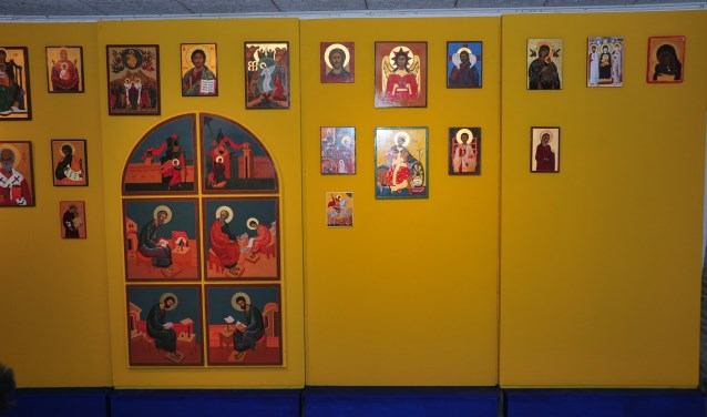 De lezing wordt gegeven door Ko Jeroense, docent van de Dordtse Iconenschilders. (Foto: Museum de Koperen Knop)
