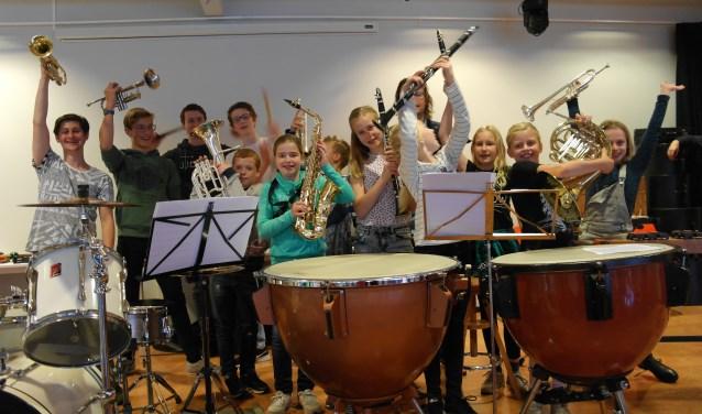 Kids kunnen weer volop muziekinstrumenten leren kennen (Foto: PR)