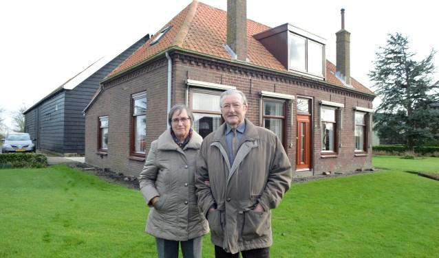 Wessel en Mar de Wilde wonen in het huis waar Wessel 87 jaar geleden werd geboren en waar hij dus ook was gedurende de ramp. FOTO: Marieke Mandemaker